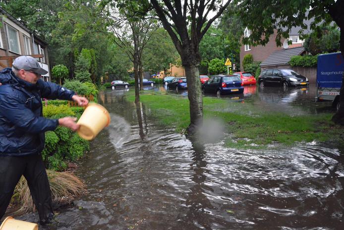 wateroverlast in Heeze in 2016