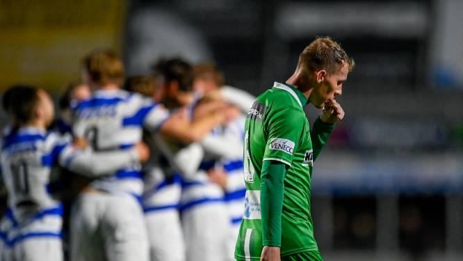 Afgang voor FC Dordrecht in KNVB Beker: amateurs van Spakenburg met 3-0 te sterk