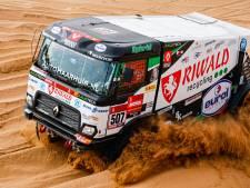 Manderveense truckbestuurder Huzink opent in Dakar 'de aanval op de Russen'