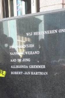 Politie herdenkt omgekomen collega Robert-Jan Hartman