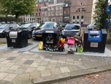 Nauwelijks controles op puinzooi bij afvalcontainers door corona in Deventer