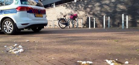 Zoon Arie den Dekker besmeurt gemeentehuis Oss met eierstruif: 'Veeg m'n kont af met rapport'