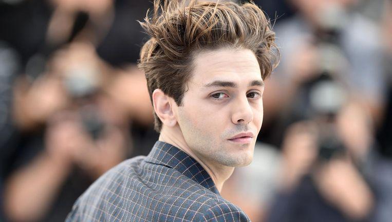 De Canadese regisseur Xavier Dolan bij het filmfestival van Cannes, waar zijn Juste la fin du monde vertoond werd. Beeld Getty Images