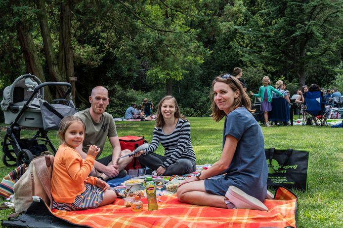 Archiefbeeld van een picknick.