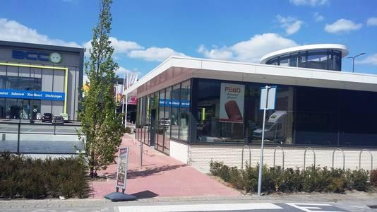 De nieuwe Febo op de Woonboulevard in Den Bosch