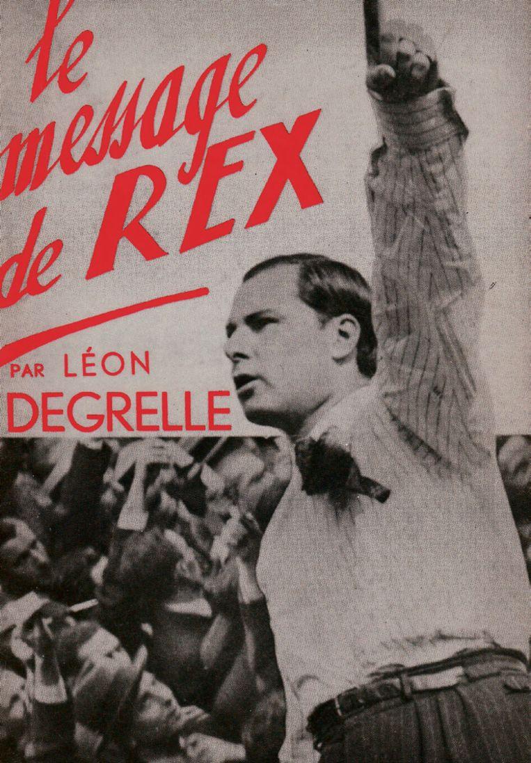 De in 1936 uitgegeven brochure 'De boodschap van Rex'. Beeld rv