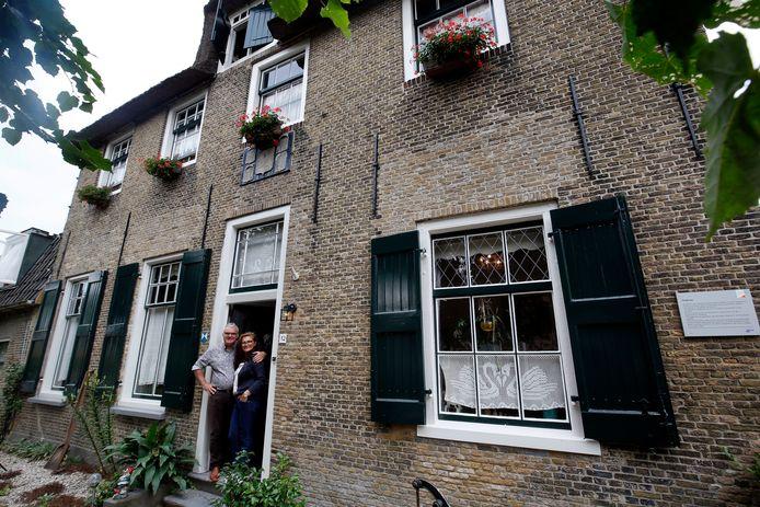 Joost van Erp en Belma Tekinalp wonen in een pand uit 1633.