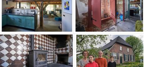 'Zou je dit wel kopen?' Maarten en Mirella twijfelden niet en maakten van vervallen boerderij een prachtig woonhuis
