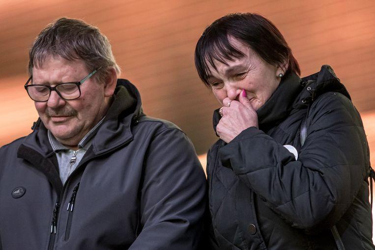 De ouders van de vermoorde journalist, Jozef Kuciak en Jana Kuciakova.