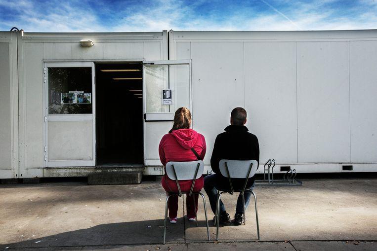 Het asielcentrum in Poelkapelle. Beeld Tim Dirven