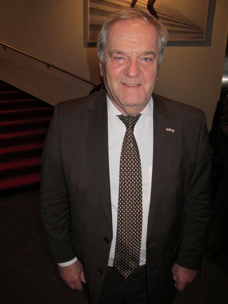 Fons Bruins, de directeur van het DeLaMar Theater. <br /> Beeld