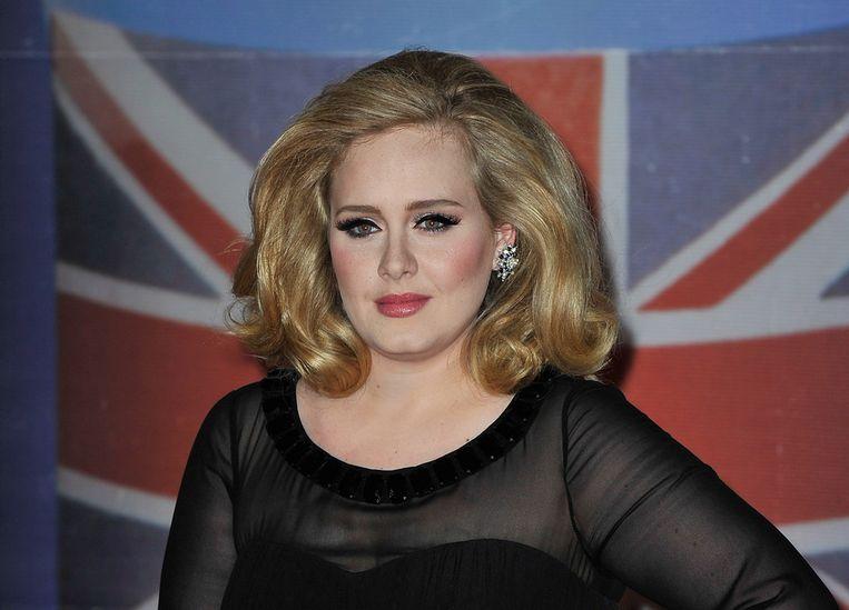 Adele, met haar album '21' sinds februari 2011 in de top 10 van Billboards albumlijst. Beeld getty