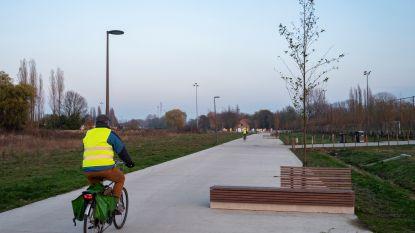 Zeven meter breed pad in Park Groot Schijn helemaal klaar