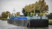 Onbemand vaartuig vervoert vanaf maandag bagger van Houthulst naar Oostende