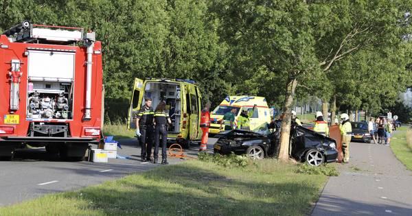 Vrouw overleden door eenzijdig ongeluk in Overloon.