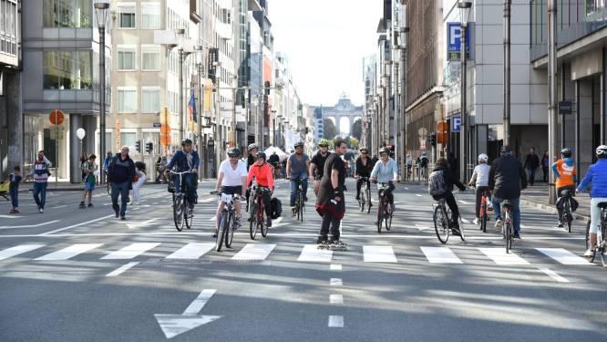 Un dimanche sans voiture à Bruxelles et dans deux petites villes wallonnes