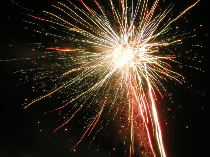 Misschien wordt Koningsdag toch nog afgesloten met vuurwerk.