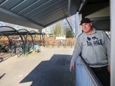 Het is gedaan met de bewaakte fietsenstalling bij NS-station Etten-Leur