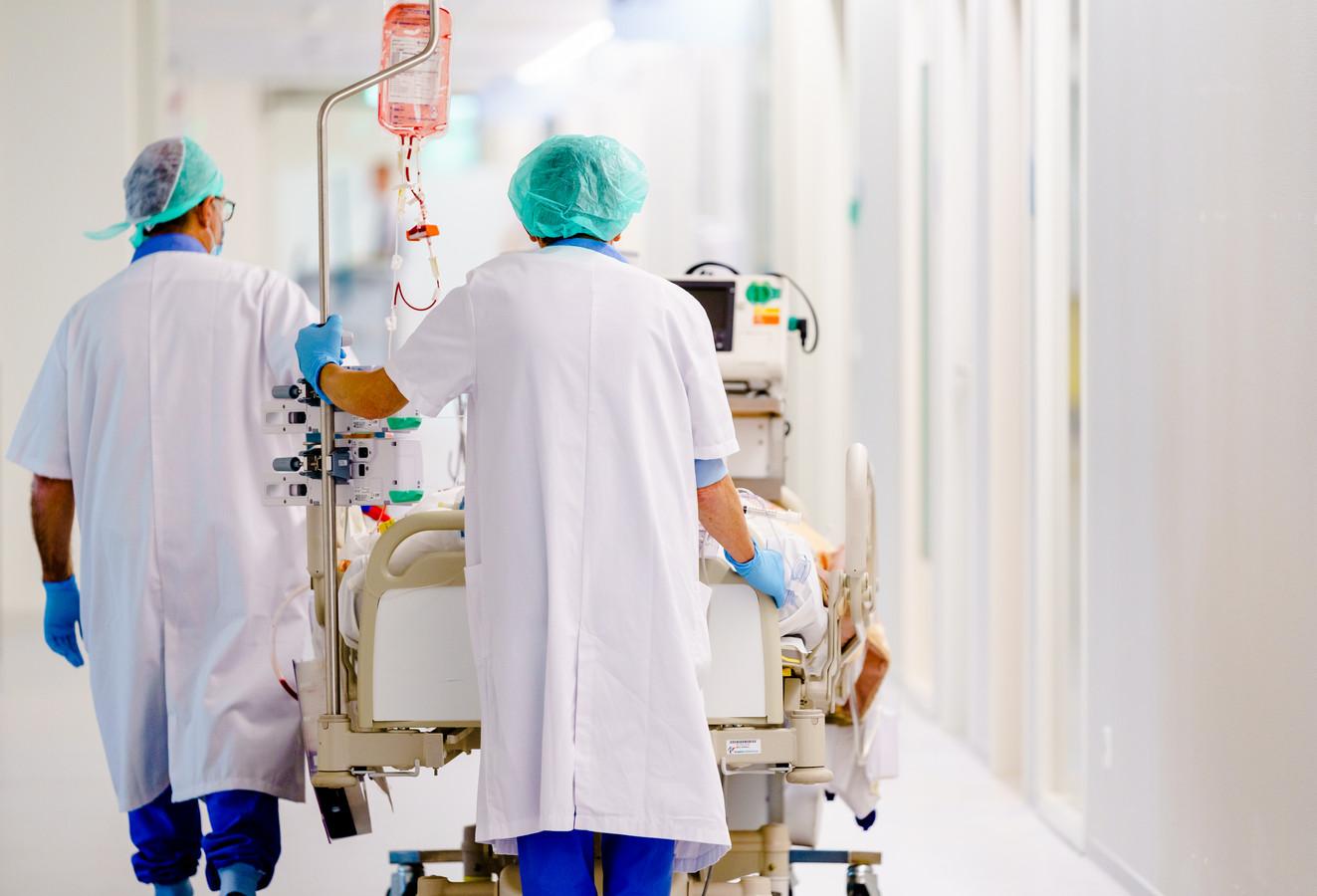 Medewerkers op de intensivecareafdeling.