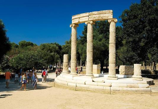 Op uitstap naar de Griekse site Olympia
