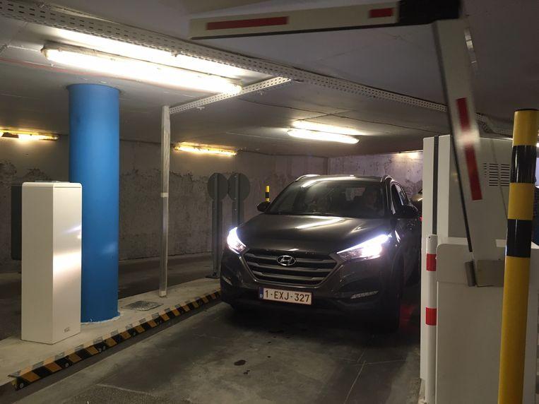 De parking Reep binnenrijden, kan voortaan zonder ticket.