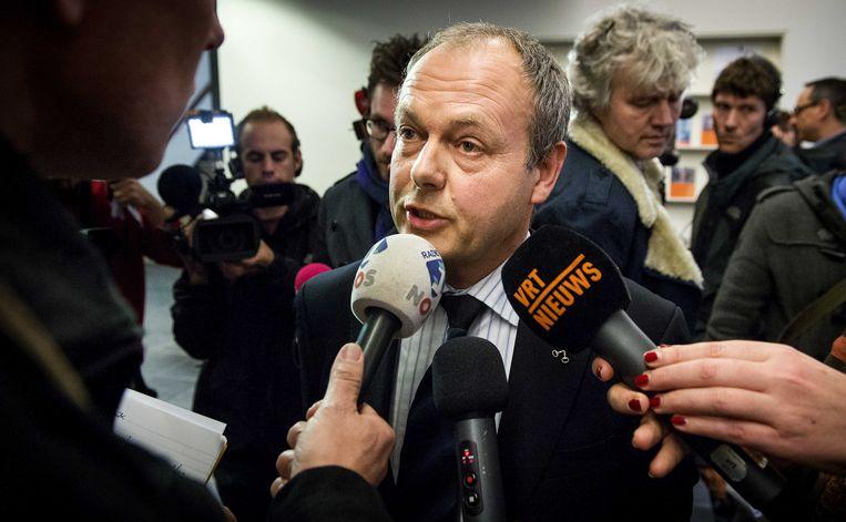 Burgemeester Lenferink van Leiden. Beeld anp