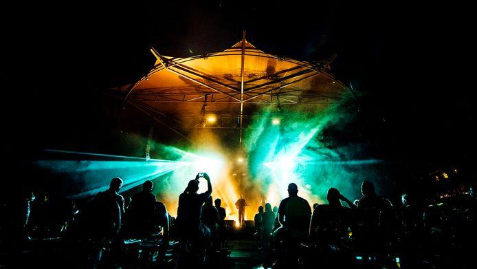 Optredens in het openluchttheater in 2020.