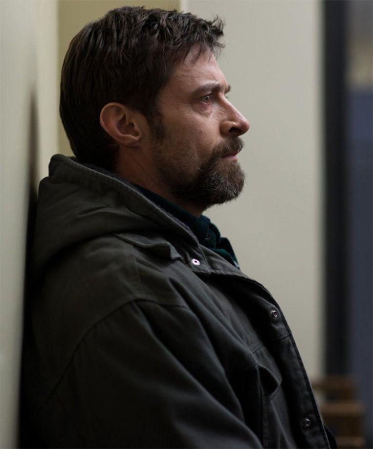 Hugh Jackman speelt Keller Dover, die voor niets of niemand terugdeinst om zijn dochter terug te vinden. Beeld IMDB