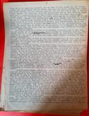 De eerste pagina van het dagboek