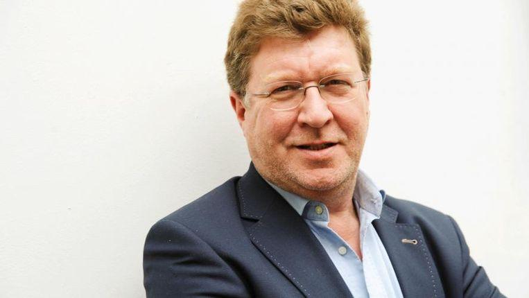 Journalist Thierry Luthers: 'Er heerst een omerta. Zodra je de naam Bayat laat vallen, gaan de deuren dicht.' Beeld RTBF