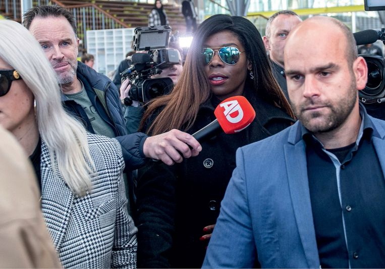 Advocate Sanne de Clerck: 'Er wordt nu ook gedeald vanuit Airbnb's. De Nederlandse actrice Imanuelle Grives (foto), die betrapt werd op Tomorrowland, werkte ook zo.' Beeld