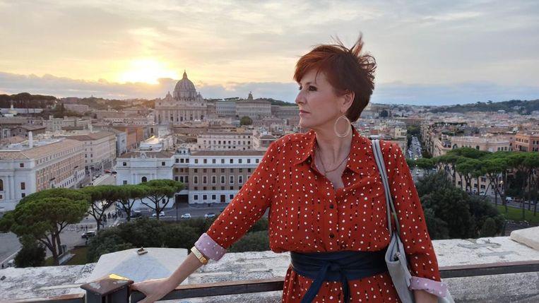 Chazia Mourali in Rome. Beeld NTR