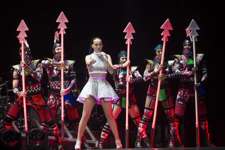 Katy Perry staat garant voor een visueel spektakel. Beeld Alex Vanhee