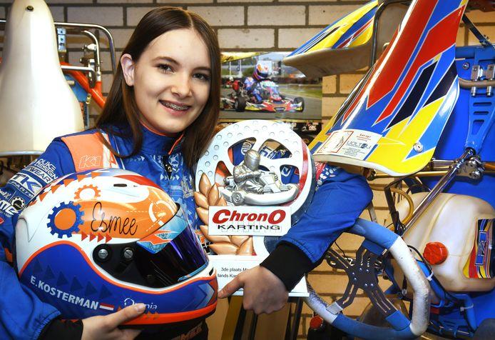 Esmee Kosterman (14) heeft de afgelopen twee jaar al veel bereikt.
