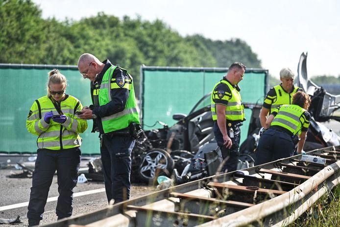 Dodelijk ongeval A58 Rucphen