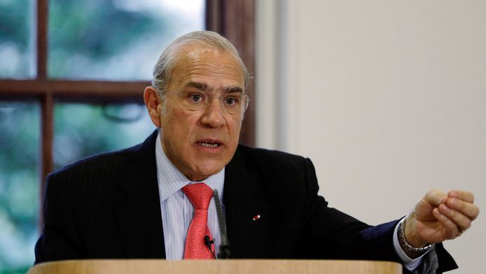 Secretaris-generaal van het OESO Angel Gurria.