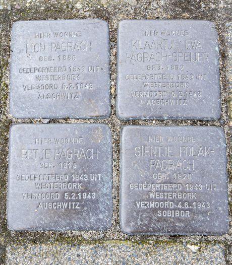 Elst herdenkt joodse gezinnen die in Duitse vernietigingskampen zijn vermoord met 'Stolpersteine'