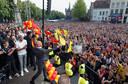 Er komt geen georganiseerd feest op De Brink zoals in 2013, maar een spontaan feest is niet tegen te houden, verwacht burgemeester Ron König.
