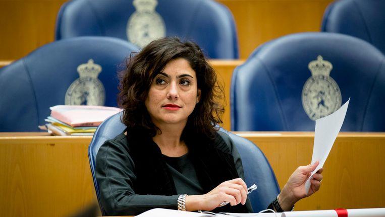 Sadet Karabulut, het SP-Kamerlid vindt dat een overheidsorganisatie neutraliteit moet uitstralen. Beeld anp