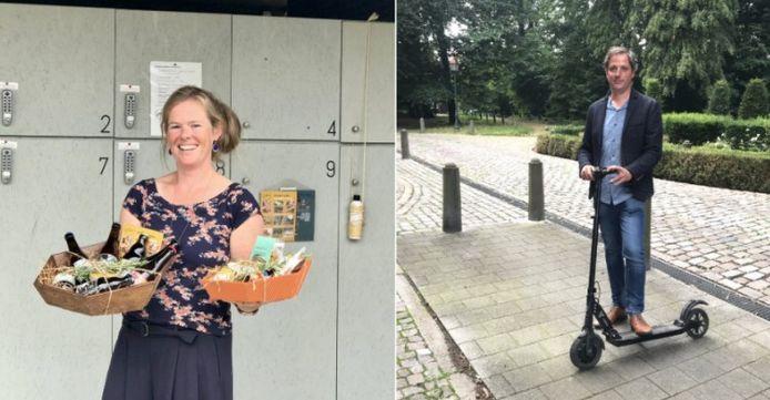 Mieke Pelckmans van Vremde Gewoontes en Bart Pues.