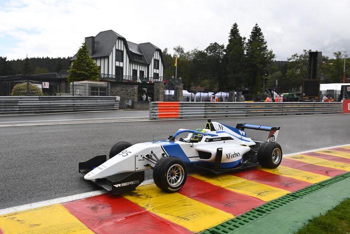 Beitske Visser, ce vendredi, sur le circuit de Spa-Francorchamps