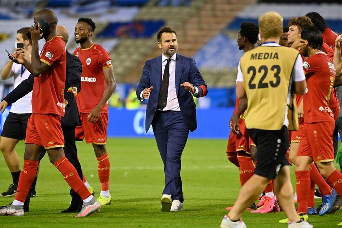 Ancien coach de Bruges, Ivan Leko a su, malgré des circonstances délicates, terminer le travail de son prédécesseur Laszlo Bölöni.