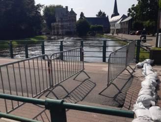 Waterpeil Demer in Zichem en Testelt daalt langzaam