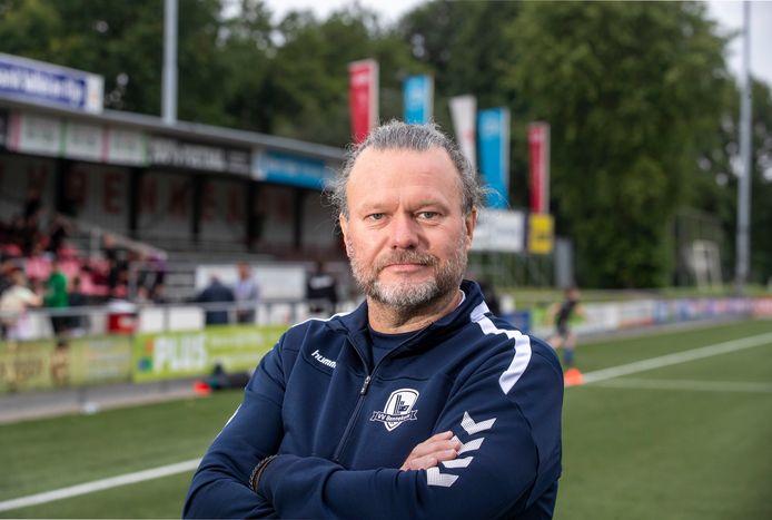 Bennekom-trainer Aad van den Berg.