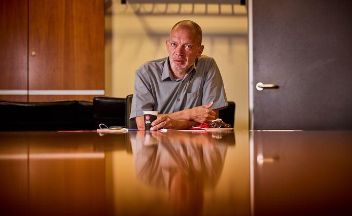 Hans Schoenmakers, vertrekkend directeur van Uniper.