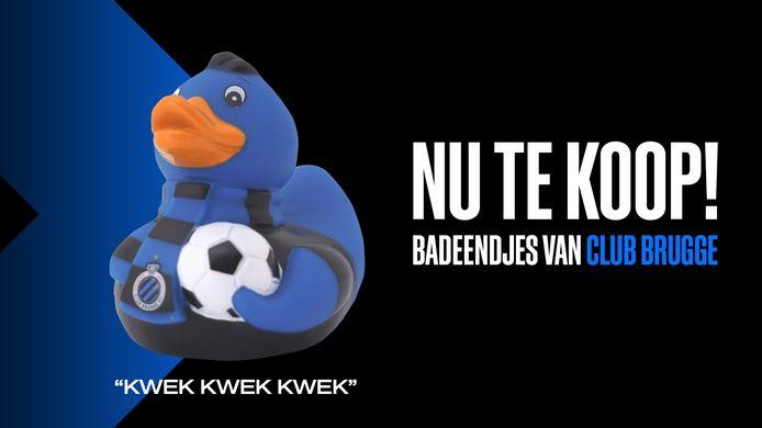 Club Brugge verkoopt vanaf nu badeendjes in zijn fanshop.
