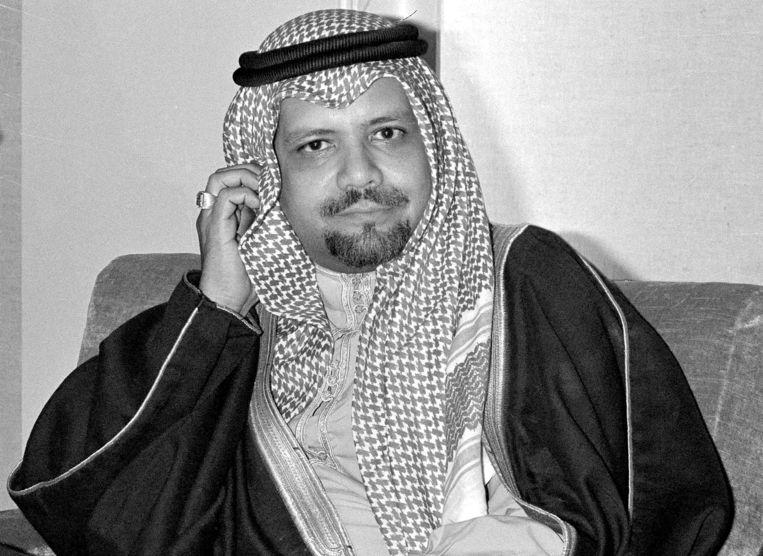 Olieminister Ahmed Zaki Yamani in 1976 Beeld AP