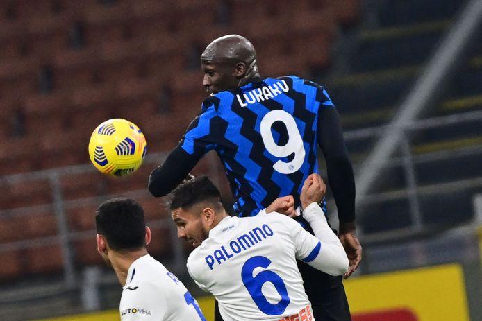 Lukaku dreigde, maar scoorde niet tegen Atalanta.