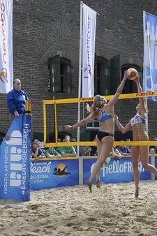Duo Van Driel en Schoon sterkste bij beachprimeur in Werkendam