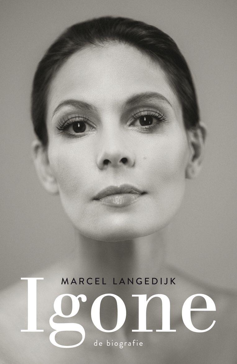 Cover van Igone - de biografie, geschreven door Marcel Langedijk. Beeld Uitgeverij Spectrum